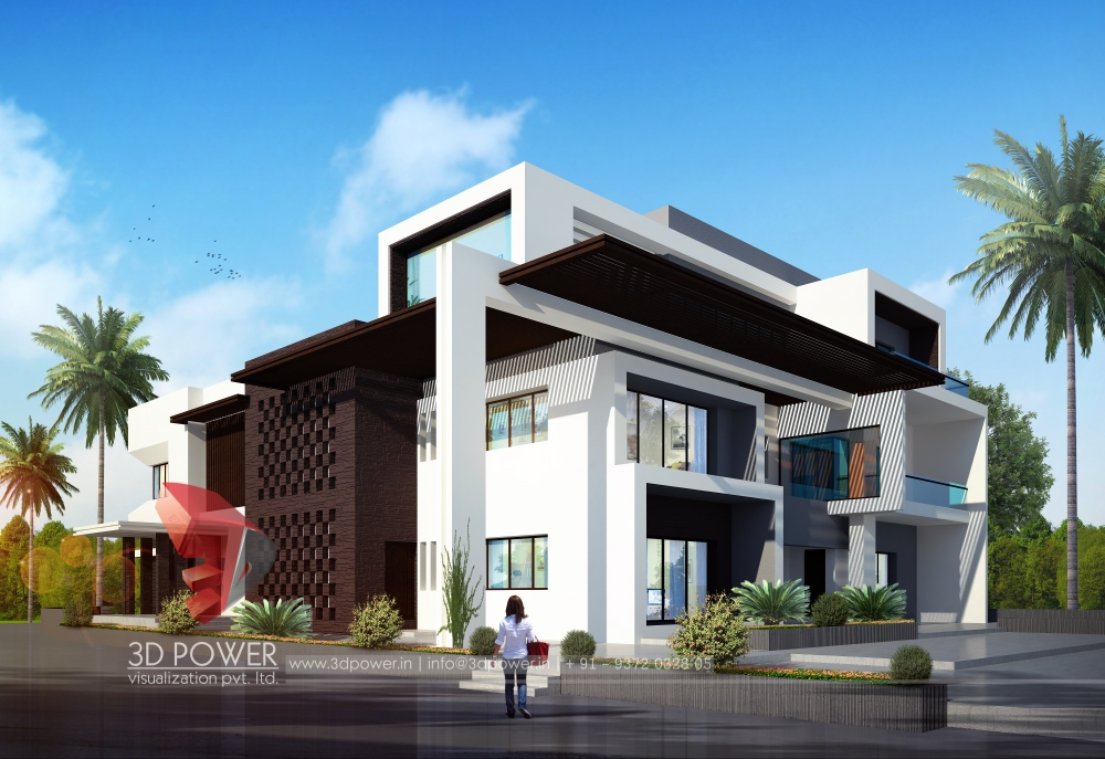 Popular 3d Virtual Tour Of A Bungalow With Awesome Exterior Design
