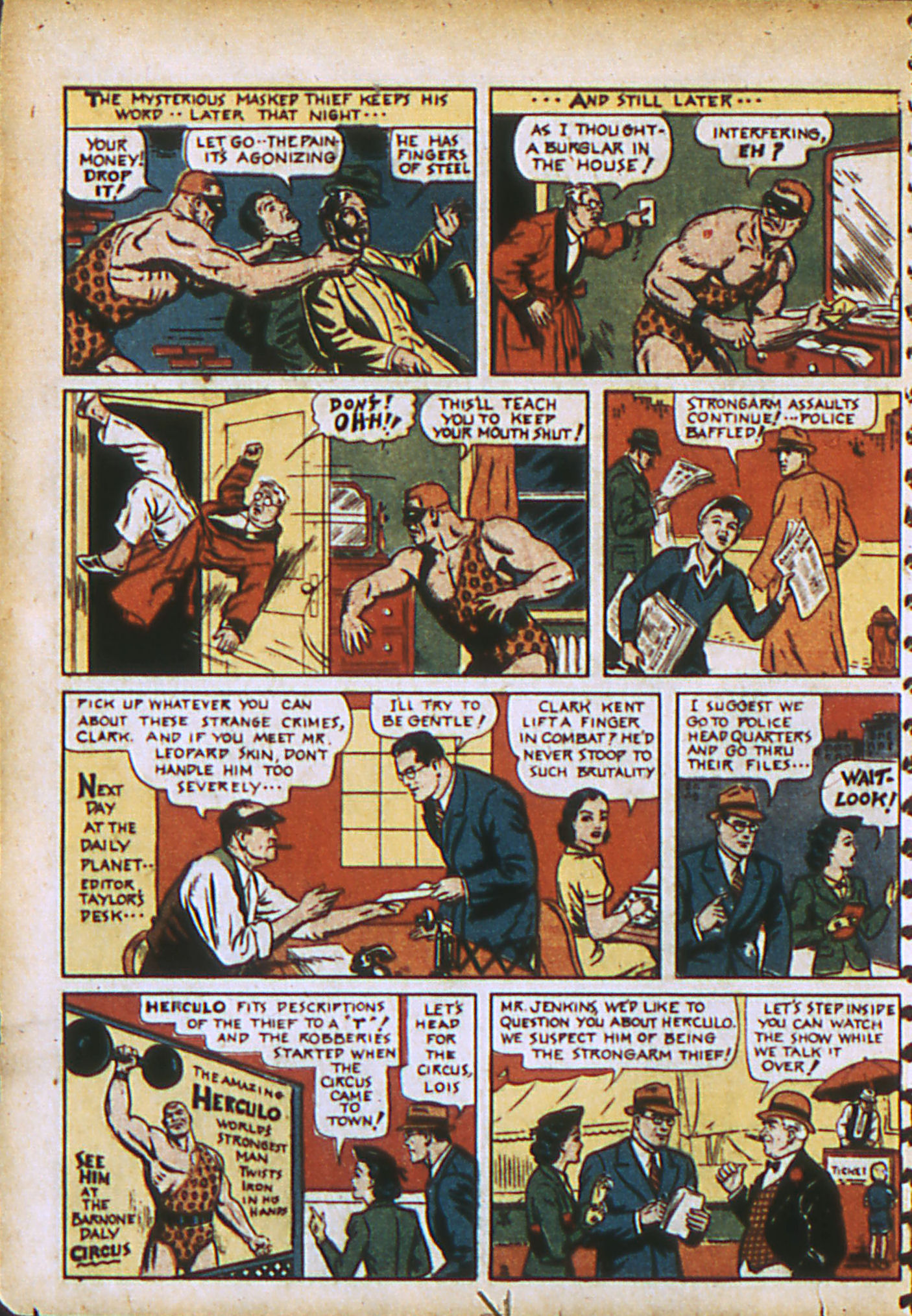 Read online Action Comics (1938) comic -  Issue #28 - 5