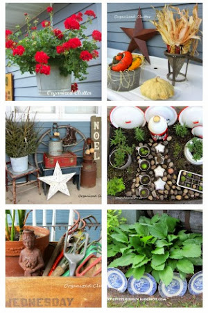 Outdoor Junk Decorating Round Up