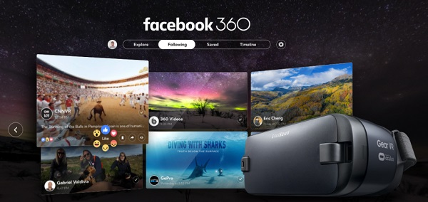 Facebook 360 app released for Samsung Gear VR