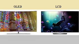 oled qled led and lcd difference
