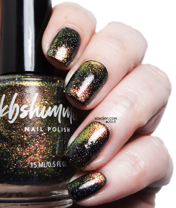 xoxoJen's swatch of Kbshimmer Moon On Over