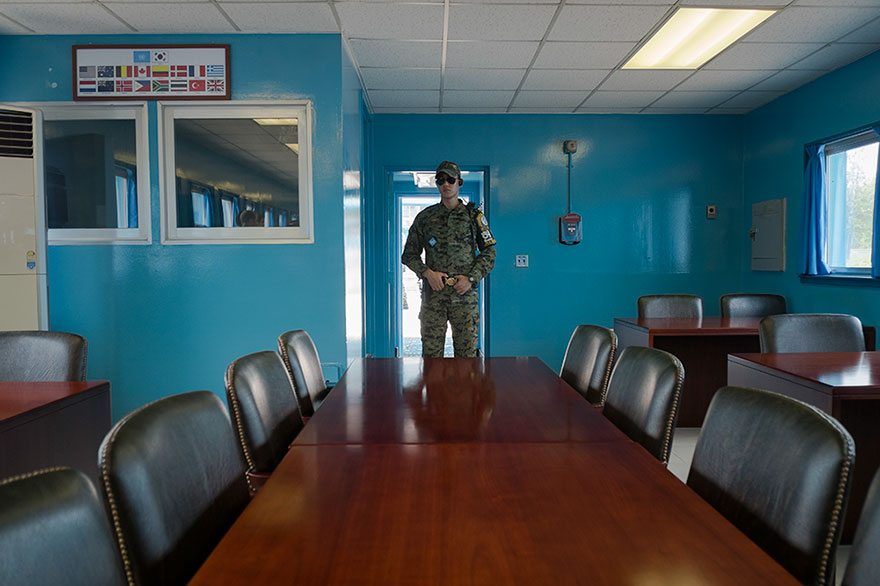 "This Photographer Points His Camera The ""Wrong"" Way At The World's Most Visited Locations - North Korean Jsa, Dmz, Panmunjeon, Korea"