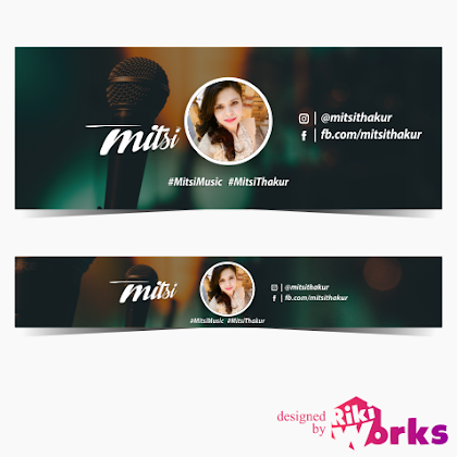 Riki works graphic designer seo and social media specialist banners for youtube channel reheart Image collections