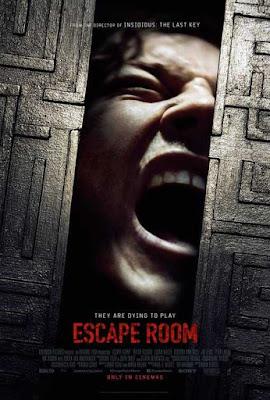 Poster Escape Room 2019 Dual Audio HD 300MB