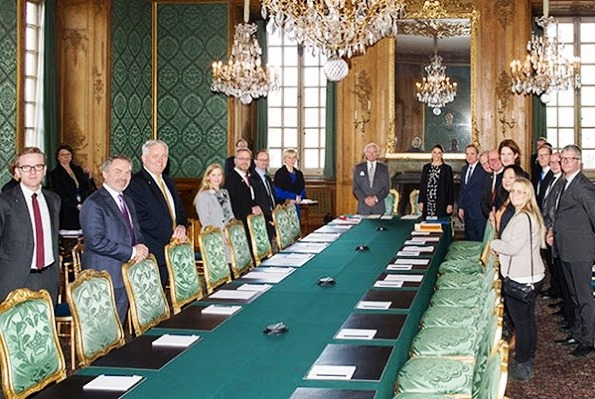 Princess Victoria At Meeting Of Foreign Relations Committee