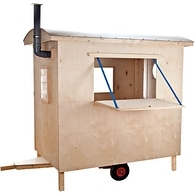 happy campers kinder bauwagen. Black Bedroom Furniture Sets. Home Design Ideas