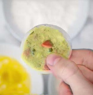 кладем кольца в морозилку