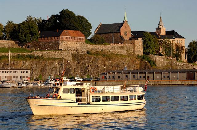 The 13th-century Akershus in Oslo. Photo: Nancy Bundt - Visitnorway.com. Unauthorized use is prohibited.