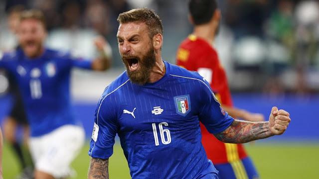 De Rossi Berencana Pensiun dari Timnas Italia Usai Piala Dunia 2018