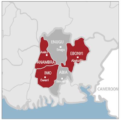 Nigeria South East region