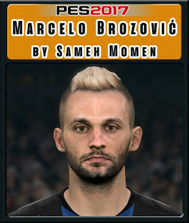 PES 2017 Faces Marcelo Brozović by Sameh Momen
