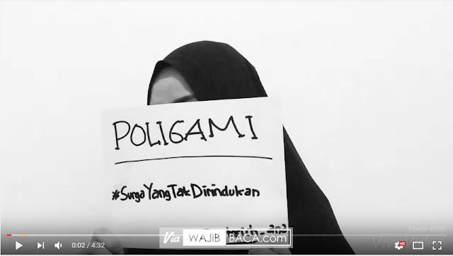 Video Curahan Hati Seorang Wanita yang Tak Kuat Dipoligami