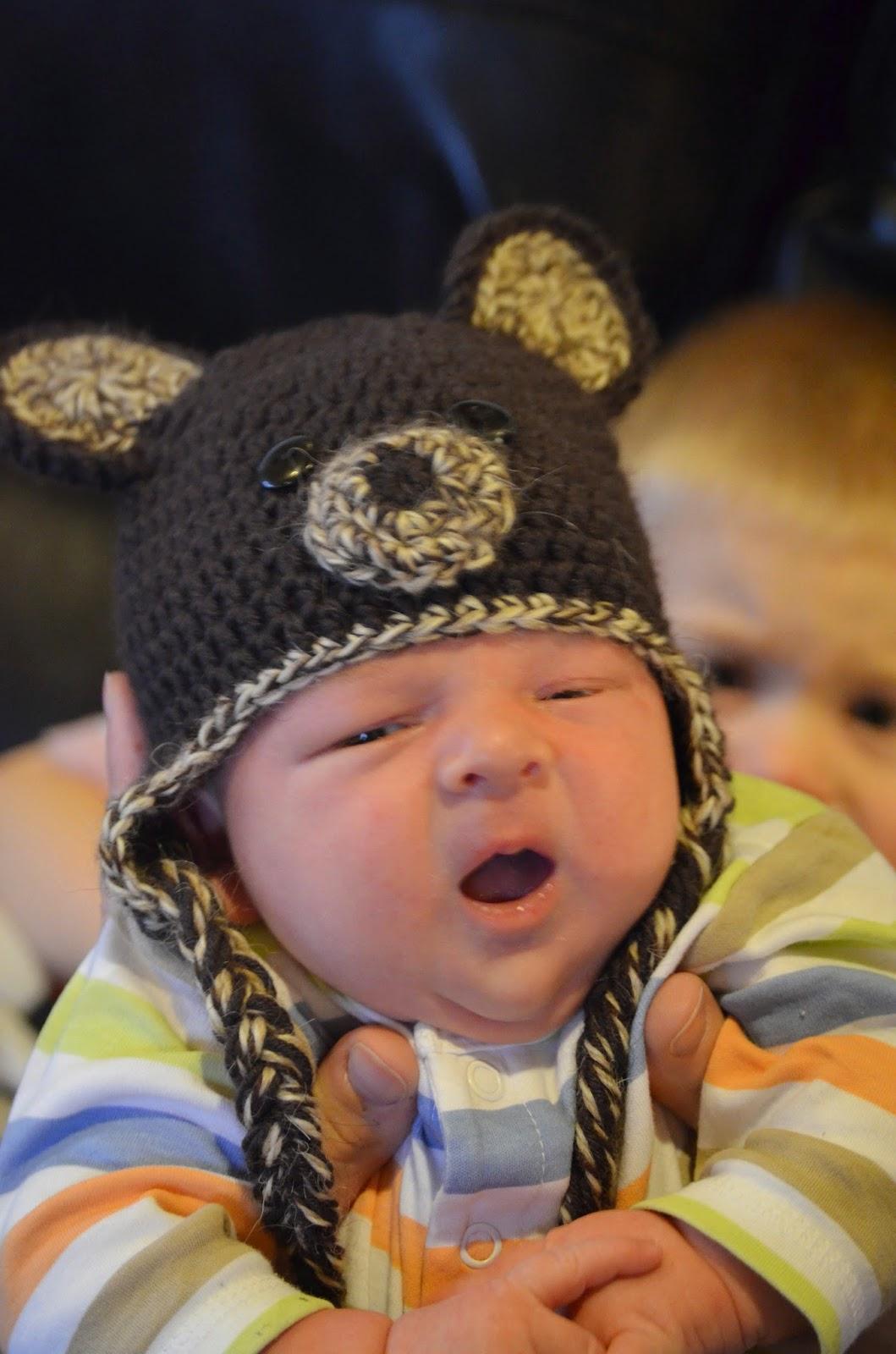 Hand Me Down Hobby  Baby Bear Hat 7b30b2de6d0
