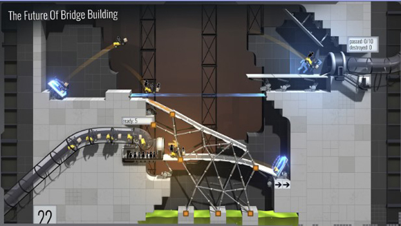 terbaru kepada kalian semua sehingga kalian mempunyai game android yang selalu terupdate s Bridge Constructor Portal Apk v1.2 Offline Android Terbaru