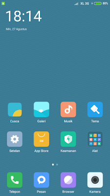 Custom Rom Xiaomi MIUI8 untuk Evercoss A74A