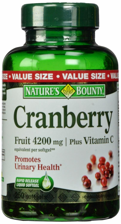 Nature's Bounty Cranberry Fruit