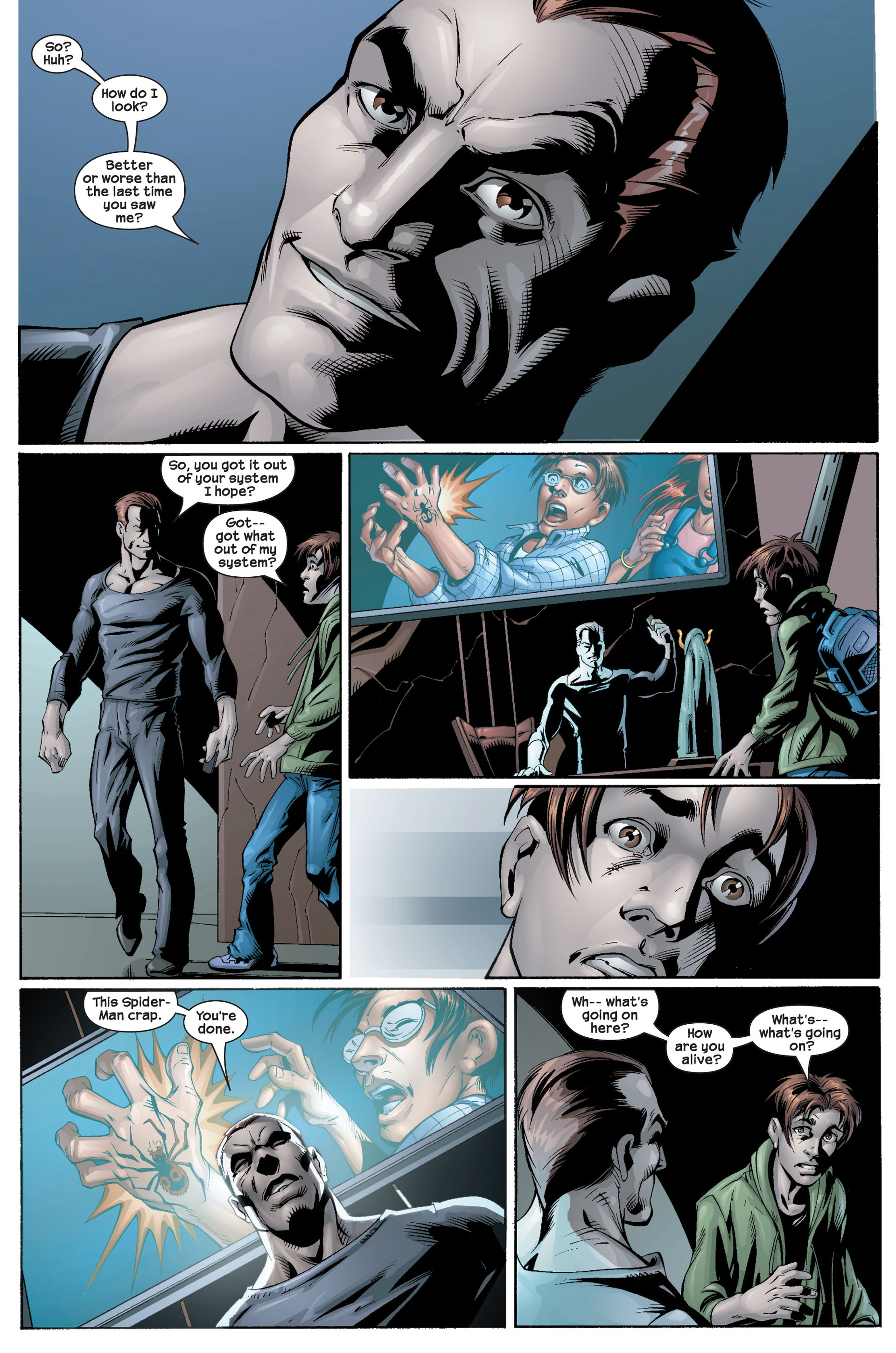 Read online Ultimate Spider-Man (2000) comic -  Issue #22 - 34