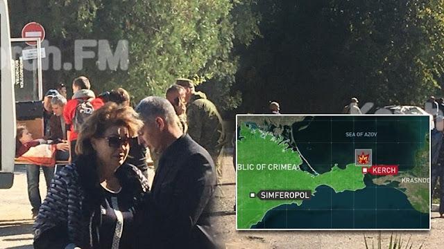 19 άνθρωποι σκοτώθηκαν από βόμβα σε κολέγιο στην Κριμαία - Δεκάδες τραυματίες (βίντεο)