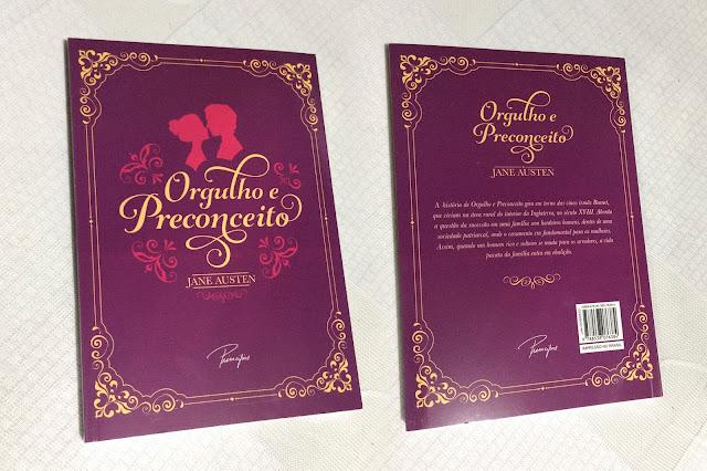 Orgulho e Preconceito - Jane Austen - Valor:R$:10,00 - Editora: Principis