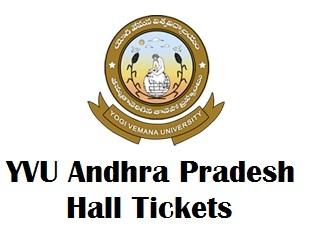 YVU Degree Hall Tickets Download 2017