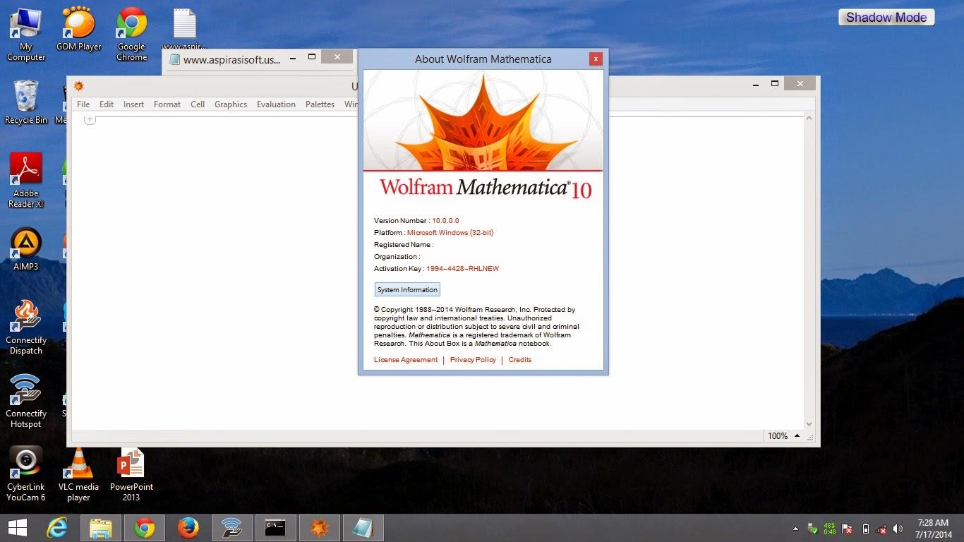 © T A U F I Q™: Wolfram Mathematica 10 Full Keygen [Uppit]