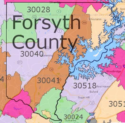 Forsyth Georgia Map.Vital News Compelling Stories North Georgia Forsyth County On