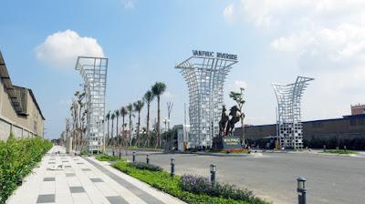 Mở bán khu nhà phố thương mại dự án Vạn Phúc Riverside