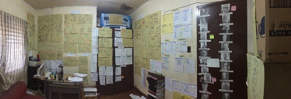 Architecture licensure exam topnotcher's notes-filled room impresses netizens