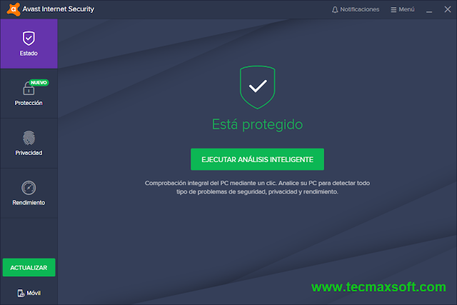 Avast Internet Security 2018 Licencias gratis captura 2