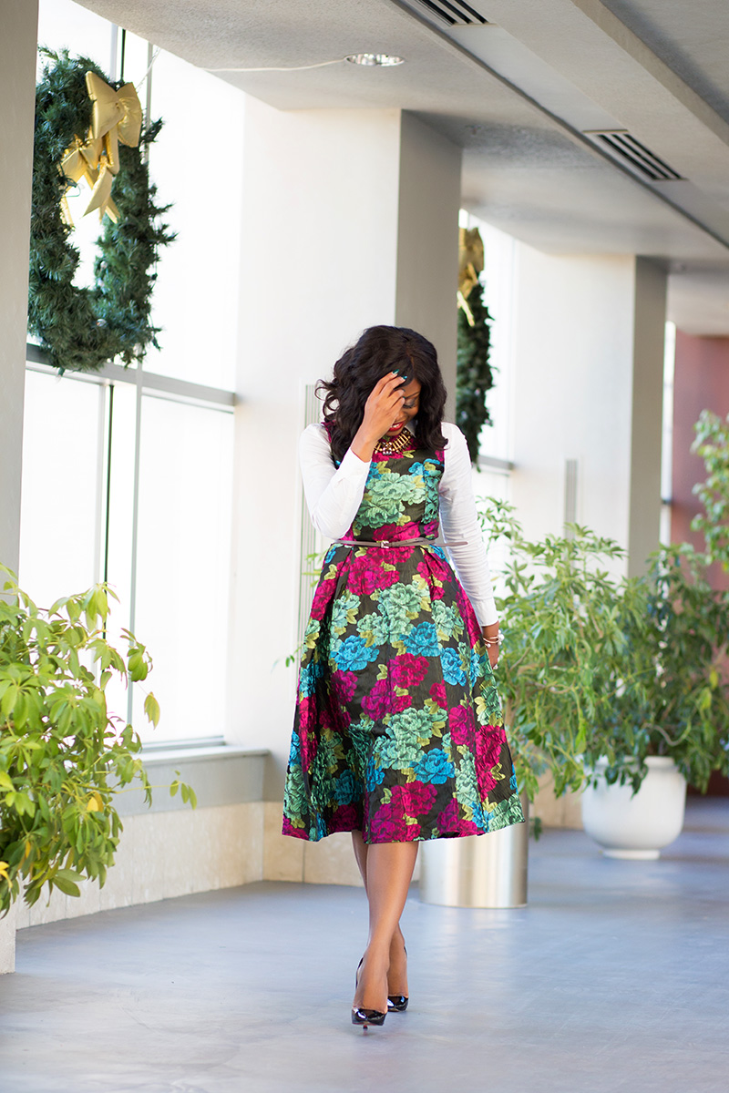 chicwish floral Dress, www.jadore-fashion.com