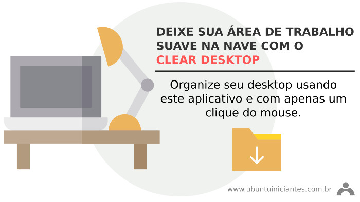 organizar area de trabalho ou desktop no ubuntu linux