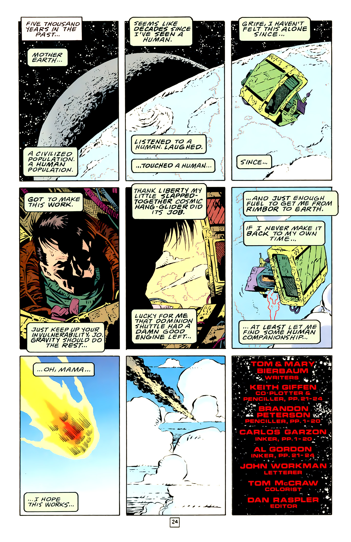 Legion of Super-Heroes (1989) 18 Page 24