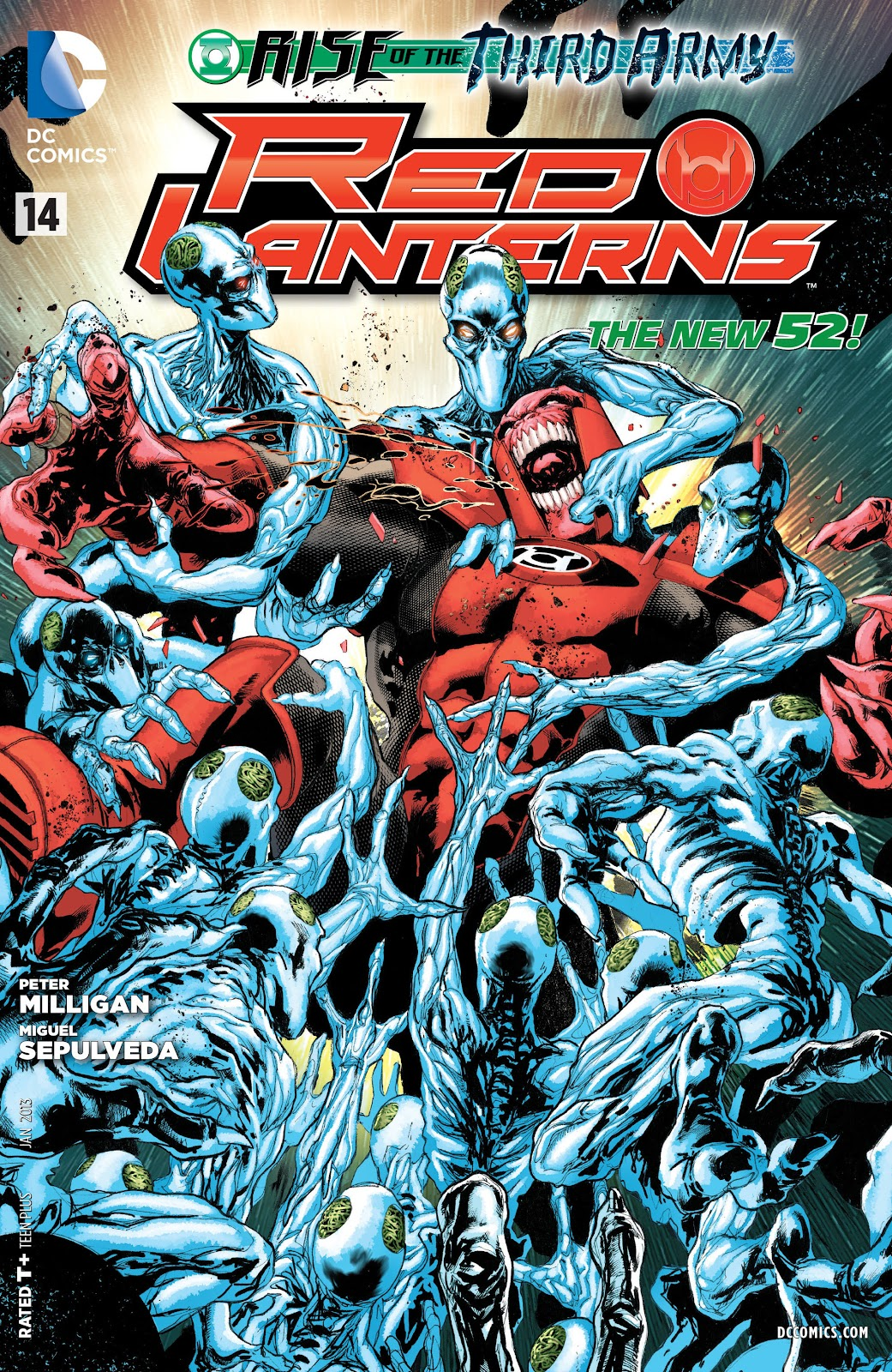 Red Lanterns issue 14 - Page 1