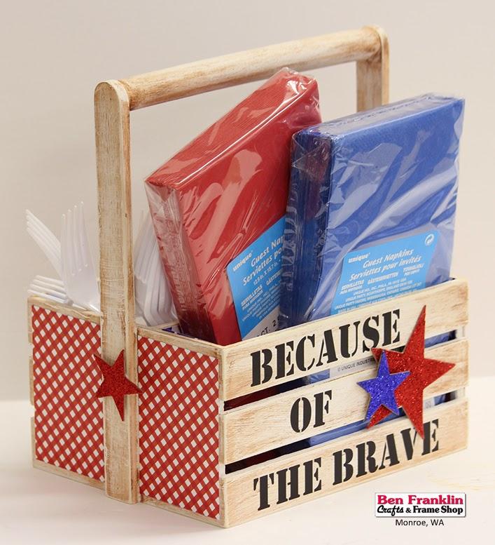 Ben Franklin Crafts And Frame Shop Monroe Wa Patriotic