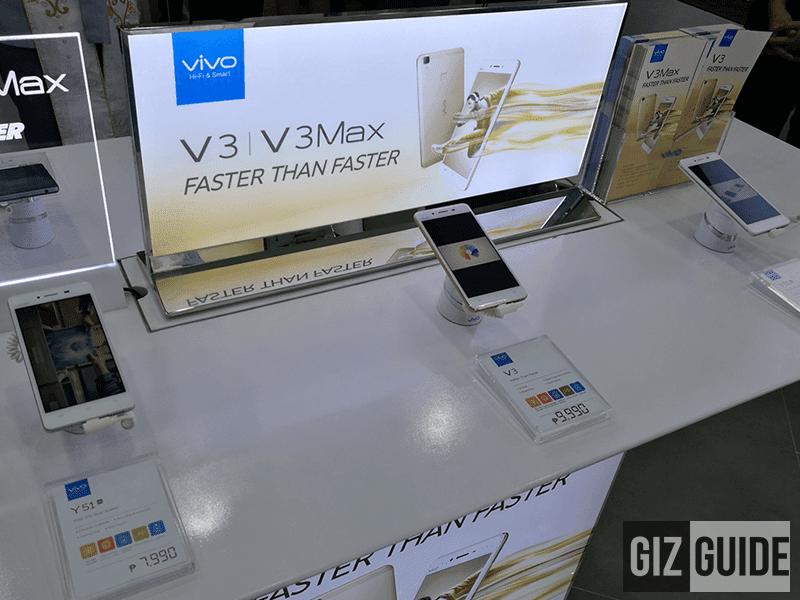 Vivo Y51, V3, and V3 Max