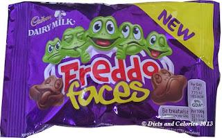 Cadbury Freddo faces chocolates