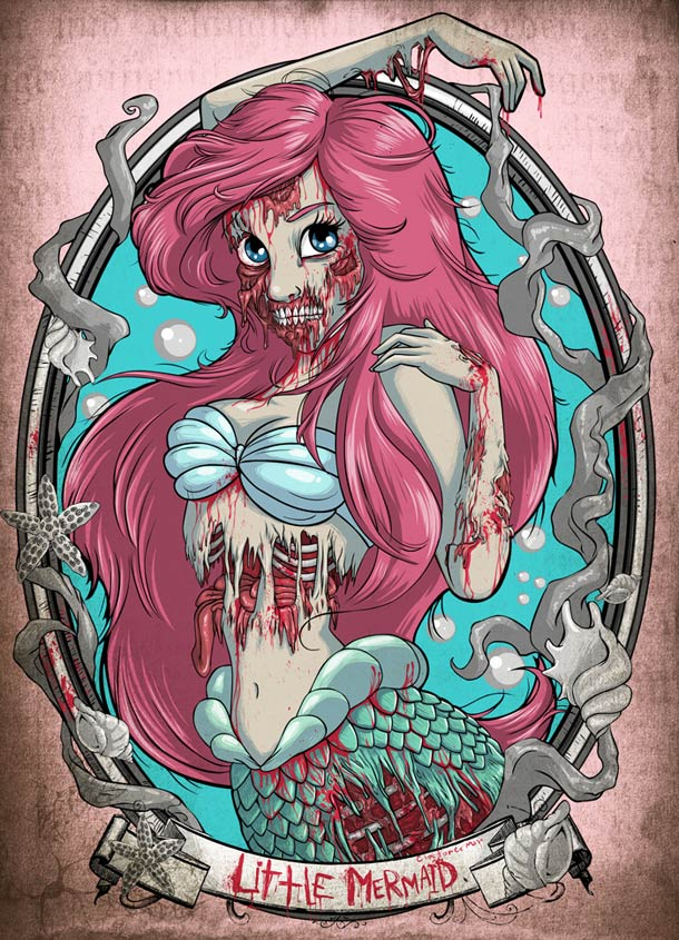 Zombie Disney Princesses 1 jpegZombie Disney Princesses