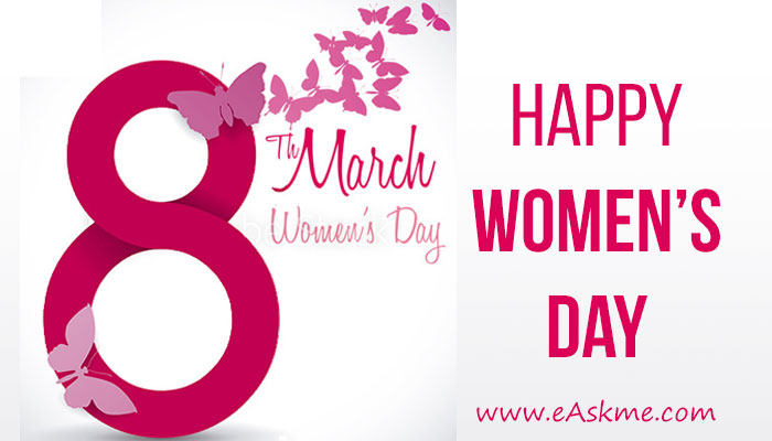 Happy Women`s Day: Rise of Women: eAskme