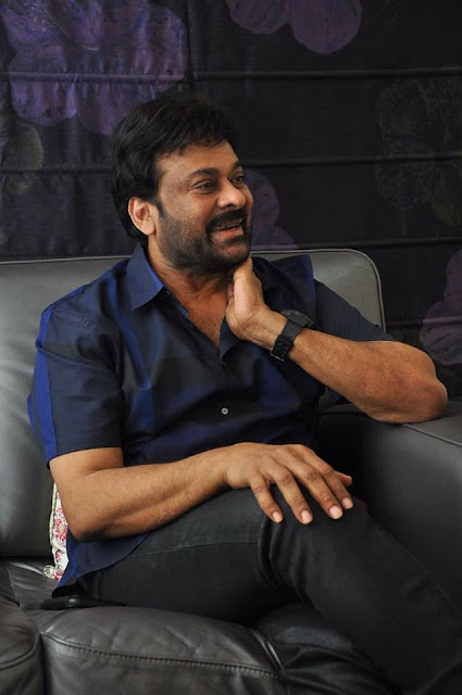 Megastar Chiranjeevi Latest Interview Stills
