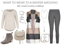 What To Wear For Winter Wedding