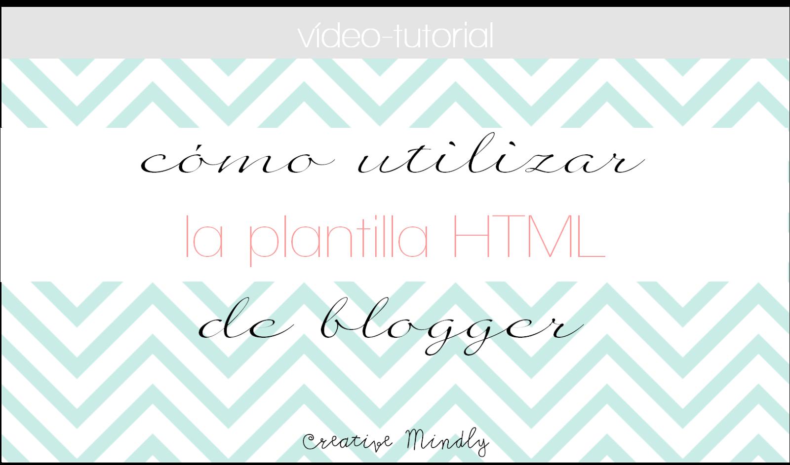 plantilla html blogger
