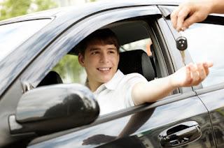 thuê xe tập lái, thuê xe bổ túc tay lái giá rẽ