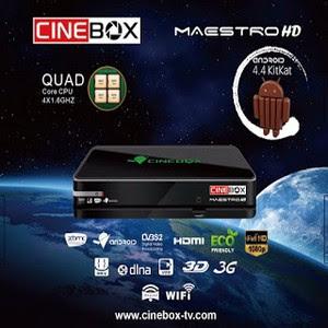 Resultado de imagem para CINEBOX MAESTRO HD