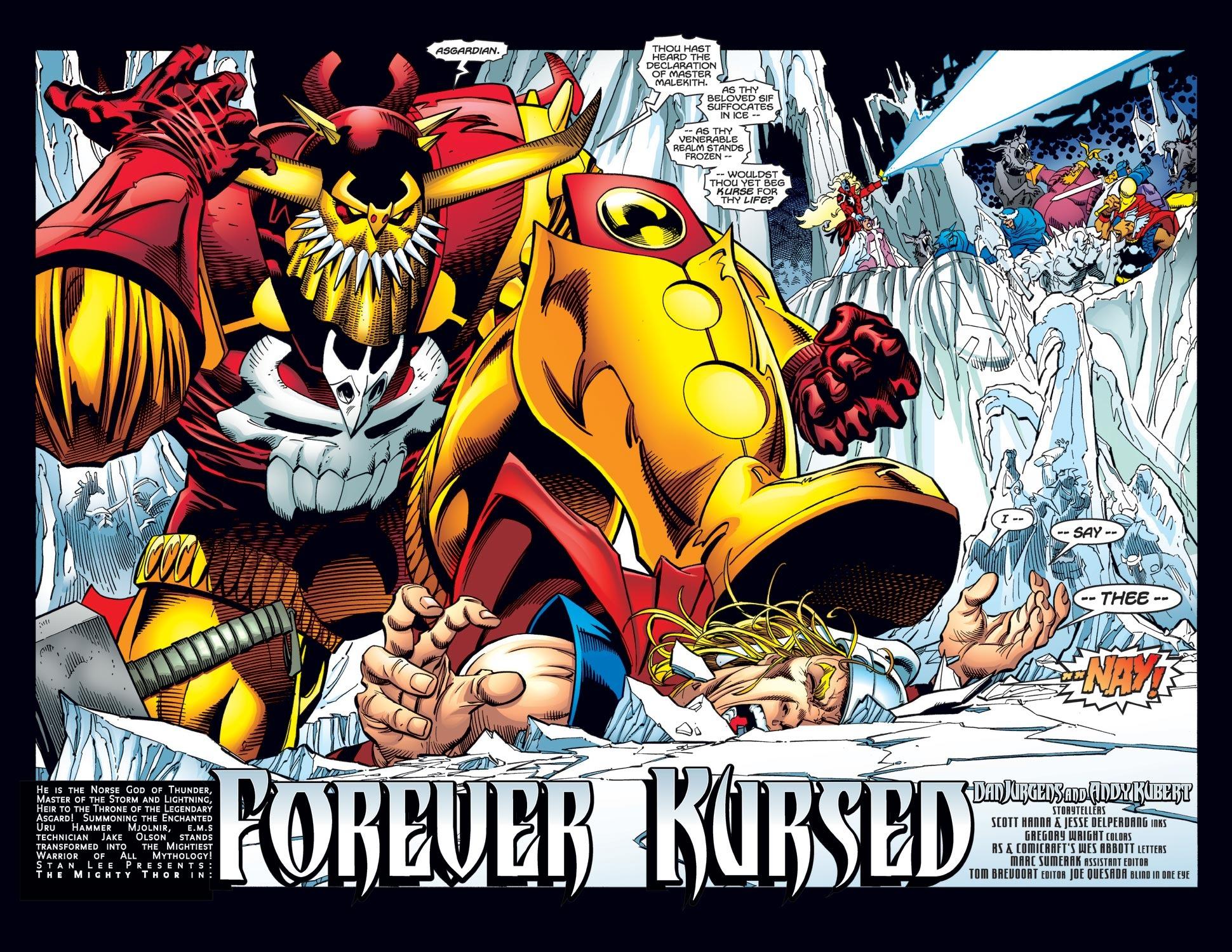 Thor (1998) Issue #32 #33 - English 3