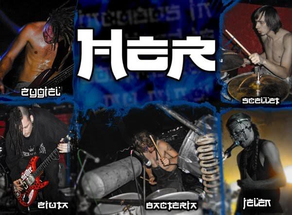 Her polish nu-metal band