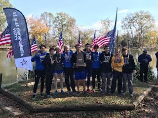 Montgomery Catholic Cross Country Team Wins State Championship 2