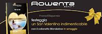Logo Premio sicuro con San Valentino Rowenta Beauty
