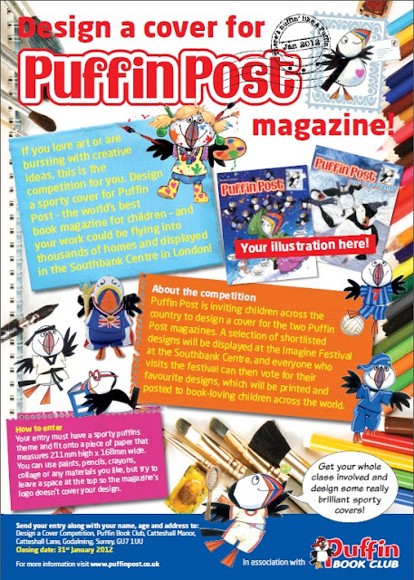 COMPETITION: Design a cover for Puffin Post magazine