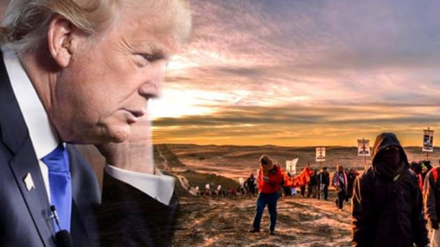 Trump Signs Executive Order Approving Keystone, Dakota Access Pipelines Trump-dapl